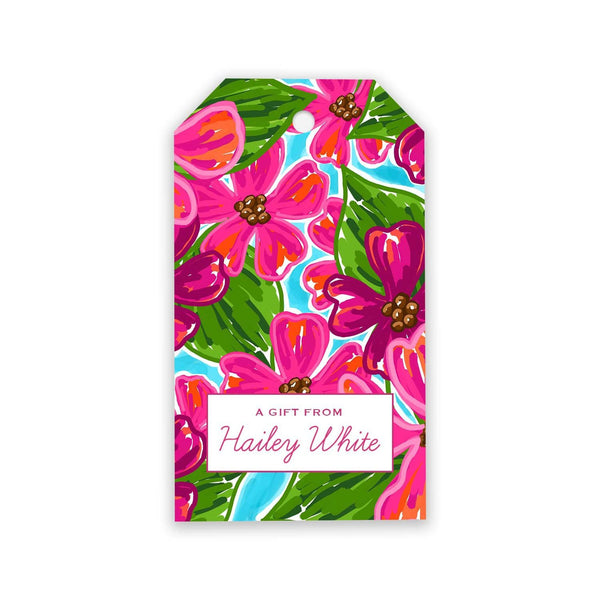 Floral Gift Tags - Elizabeth Rose Designs - Monograms, Stationery, & Personalized Gifts