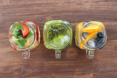 3 Tasty & Easy Infused Water Recipes