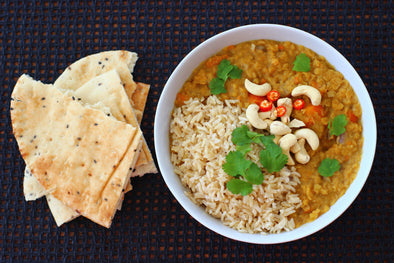 3 Easy Post-Workout Vegan Curry Recipes