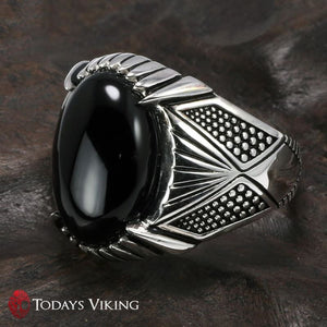 925 Sterling Silver Rings Antique Viking Ring