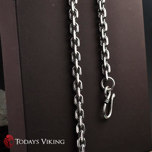 925 Sterling Silver Rough Design Viking Necklaces