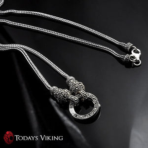 Genuine 925 Sterling Silver Chain Long Necklace