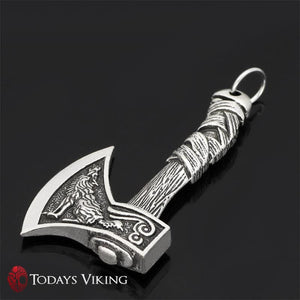Nordic Viking Handle Axe Pendant