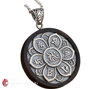 Real 925 Sterling Silver Blackwood Viking Pendant