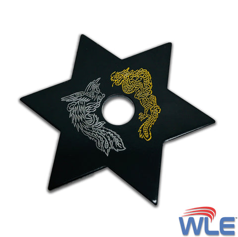 Superior Dragon 6-Point Throwing Star 3.25""