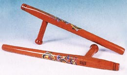 Tonfa with Dragon Imprinted Design
