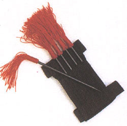 5 pcs Darts Ninja Spike Set with Red Tassel and Wrist Holder