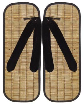 Zori Sandals Y Type-Japanese Straw Slippers