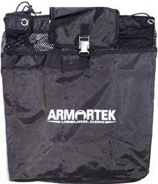 Black Carry Bag for Sparring Gear