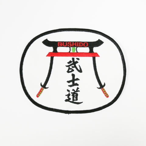 Kung Fu Bushido Patch - Embroidery Style - Cotton
