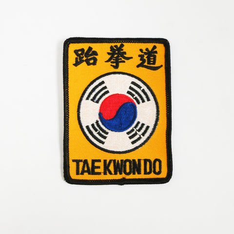 Tae Kwon Do Symbol Patch - Embroidery Style - Cotton