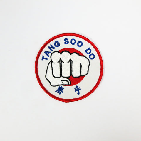 Tang Soo Do Fist Patch - Embroidery Style - Cotton