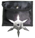 Six Point Stainless Steel Throwing Star