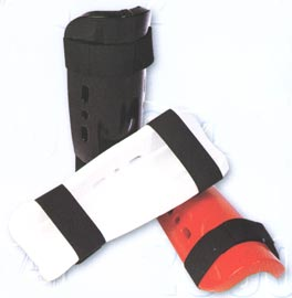 Martial Arts Sparring Shin Guards - Dipped Foam
