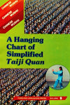Hanging Chart of Simplified Taiji Quan
