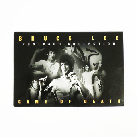 Bruce Lee Game of Death Postcard Collection, Black and White Edition
