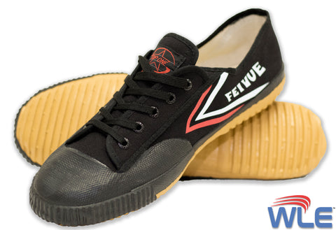 Black Feiyue | Low Top Kung Fu Shoes