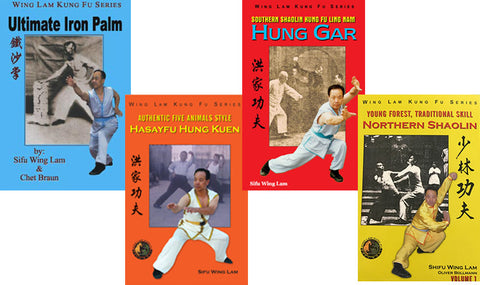 Sifu's Wing Lam Book Bundle