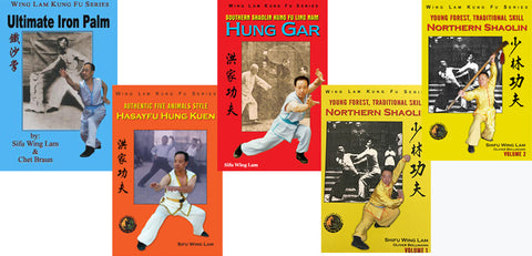 Sifu's Wing Lam Kung Fu 5 Books Bundle