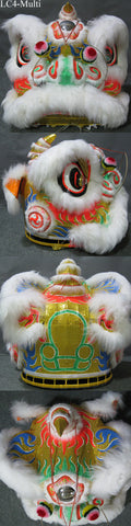 Multicolored Fut San Southern Lion Head