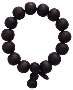 Black Peach Wood Bracelet