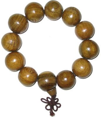 Large Green Sandalwood Bracelet