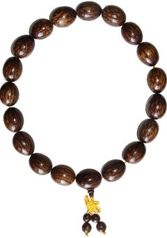 Natural Nut Hand Beads