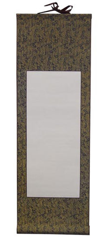 "Chinese Blank Scroll 72"" x 29"""