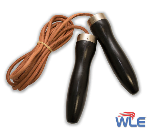 Leather Jump Rope 9.5'