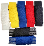 Extra Long Traditional Kung Fu Solid Color and Cloud Pattern Cord Belt