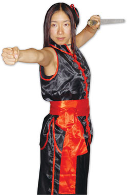 No Sleeve Southern Kung Fu Wushu Performer Uniform