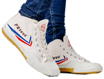 Feiyue High Top - White Original Shaolin Kung Fu Wushu Martial Arts