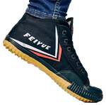 Feiyue High Top - Black Original Shaolin Kung Fu Wushu Martial Arts