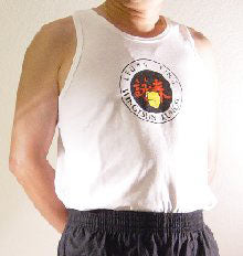 Wing Tsun White Tank Top