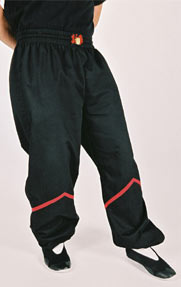 Instructor Black Kung Fu Pants