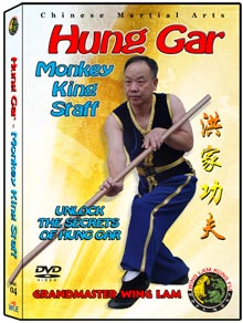 (Hung Gar DVD #04) Monkey King Staff by Sifu Wing Lam