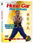 (Hung Gar DVD #11) Five Animals by Sifu Wing Lam