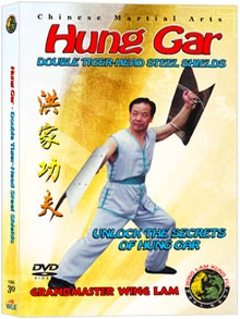 (Hung Gar DVD #30) Double Tiger-Head Steel Shields