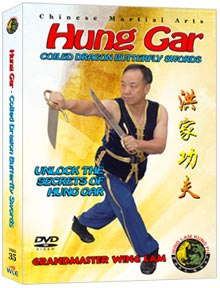 (Hung Gar DVD #35) Coiled Dragon Butterfly Swords