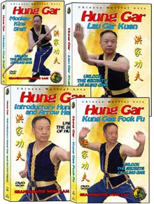 (Hung Gar DVD #01-04) Hung Gar Level One Kung Fu by Sifu Wing Lam
