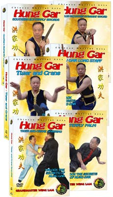 (Hung Gar DVD #05-10) Hung Gar Level Two - Intermediate by Sifu Wing Lam