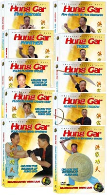 (Hung Gar DVD #11-20) Hung Gar Level Three - Advanced by Sifu Wing Lam