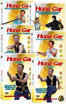 (Hung Gar DVD #21-26) Hung Gar Level Four - Master DVD Set