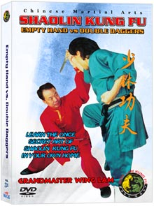 (Shaolin DVD #31) Empty Hand vs. Double Daggers