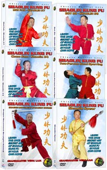 (Shaolin DVD #06-11) Shaolin Level Two - Intermediate