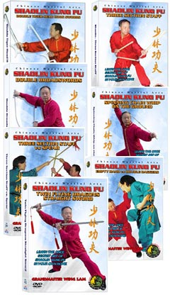 (Shaolin DVD #25-31) Shaolin Level Four - Master Chinese Traditional Shaolin Kung Fu