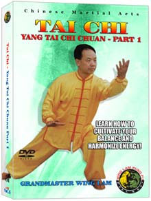 (Tai Chi DVD #01) Yang Tai Chi Chuan (Part One) by Sifu Wing Lam