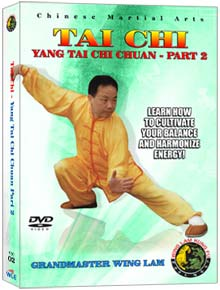 (Tai Chi DVD #02) Yang Tai Chi Chuan (Part Two)