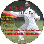 Tai Chi 18 Fan Form DVD
