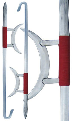 Traditional Double Tiger-Head Hook Swords